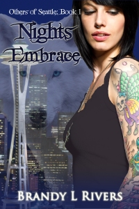 Nights Embrace - Book Cover